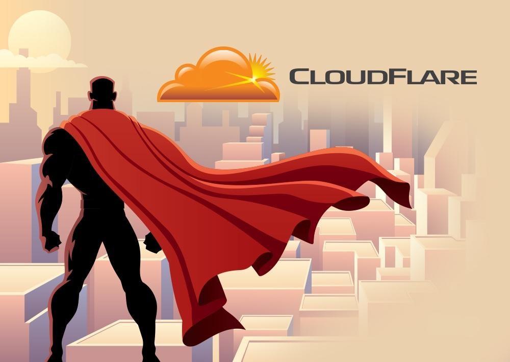 Cloudflare thực chất là một DNS trung gian