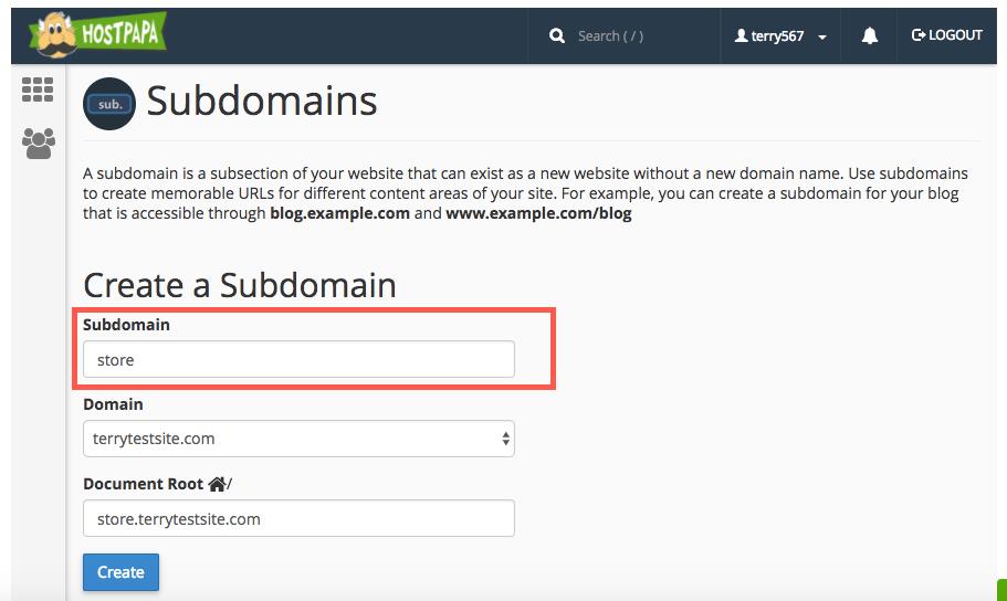 Subdomain là phần mở rộng của tên miền chính