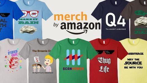 Quá trình bán áo thun trở nên đơn giản với Merch