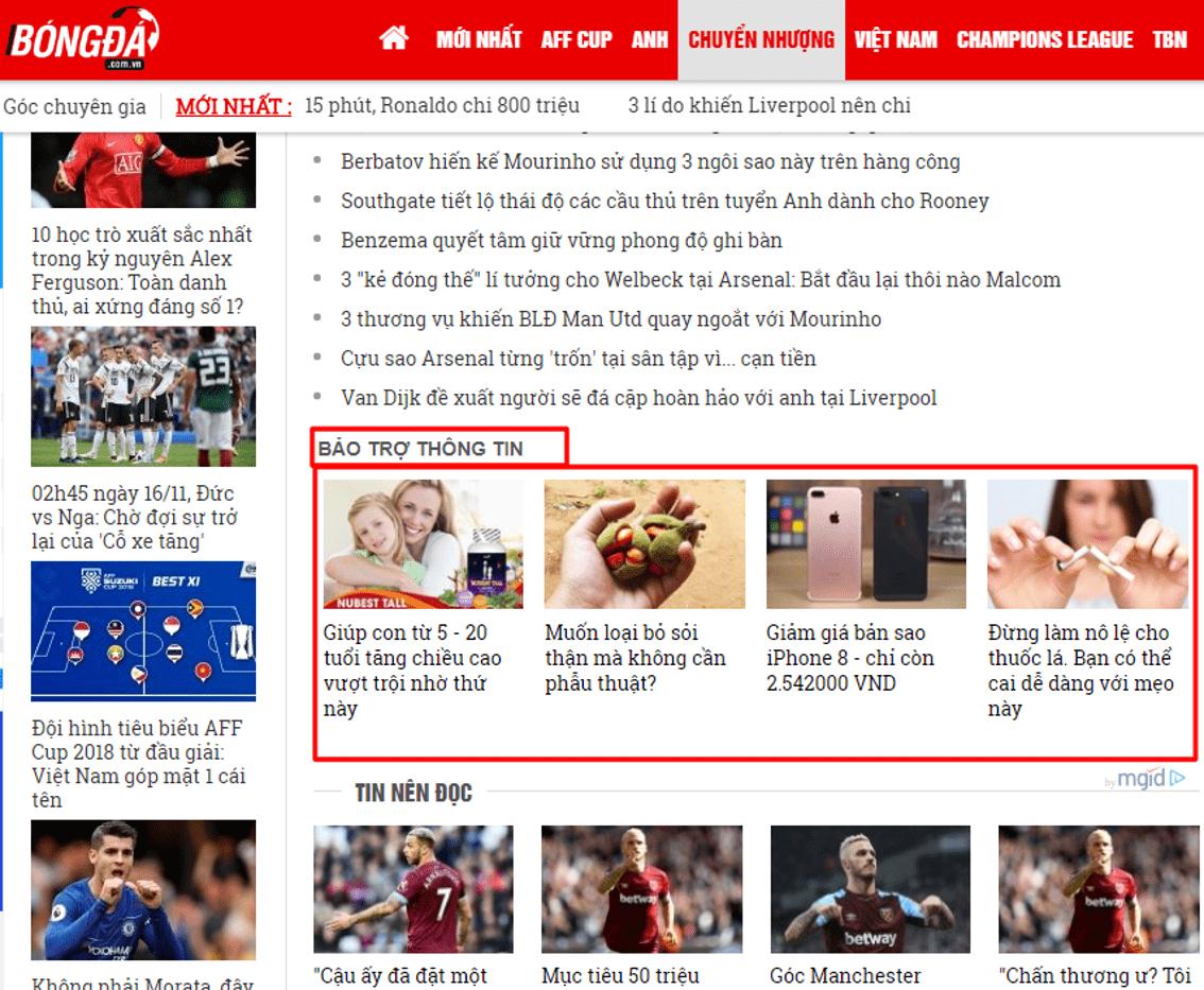 Mgid là gì? Mgid là mạng quảng cáo Native Ads hàng đầu thế giới