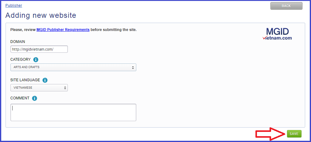 Đăng ký tài khoản Migd với 6 bước đơn giản