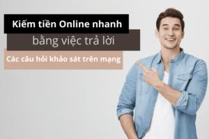 khảo sát kiếm tiền online