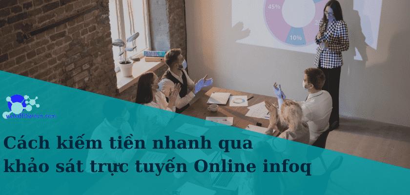 kiếm tiền online nhanh bằng việc trả lời các câu hỏi khảo sát trên mạng