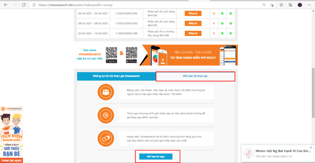 kiếm tiền khảo sát online bằng affilate marketing
